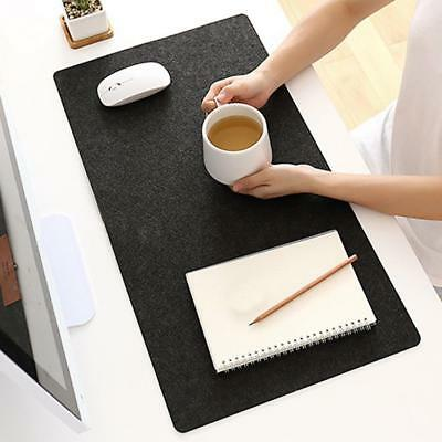 New Simple Felt Cloth Mouse Pad Keyboard Cushion Office Home Desk Mat Supply HU