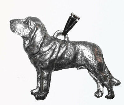 Bloodhound Pendant Dog Harris Fine Pewter Made in USA jewelry