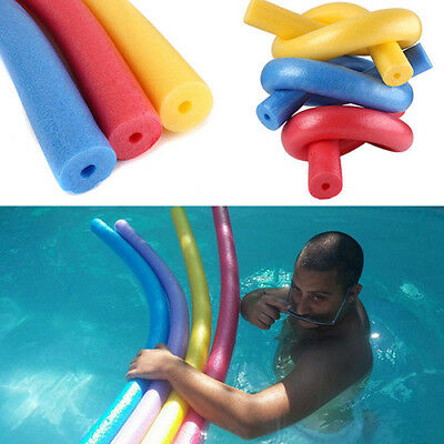 Swimming Pool Floating Foam Water Noodle Kids Adult Swim Aid Beach Toy Eyeful
