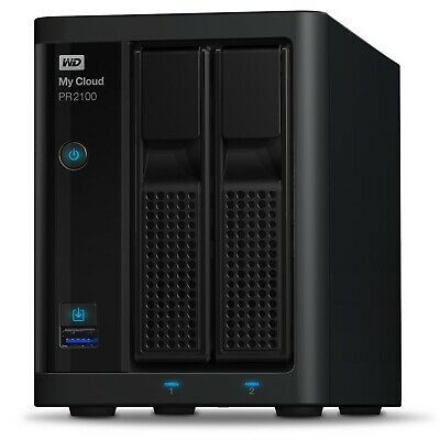 WD My Cloud PR2100 Pro Series 16TB (2x8TB) 2-Bay NAS Storage
