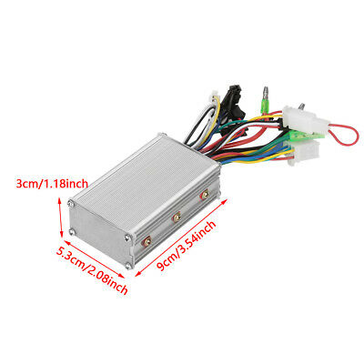 250W DC Brushless Motor Controller Silver for Electric Bike Bicycle Scooter WD