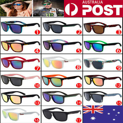 17 Colors Stylish QuikSilver Men Women Unisex Outdoor Sunglasses UV400 AU