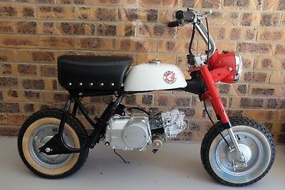 Honda Z50 Mini Trail After Market Project - All New Parts - Unfinished Project