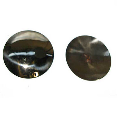 """Northern Style, plain, polished and domed 2.5"""" Concho"""