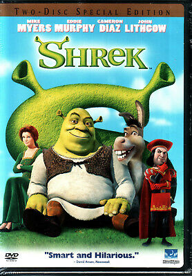 SHREK Two-Disc Special Edition DVD 2001 SEALED NEW, FREE SHIPPING Eddie Murphy