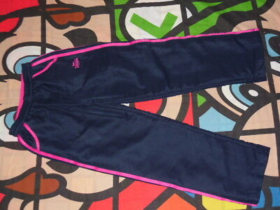 LONSDALE Navy Blue & Pink Tracksuit Bottoms Age 9-10