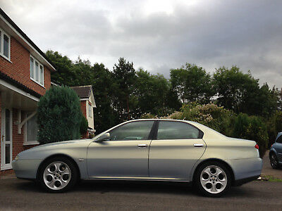 2001 Alfa Romeo 166 Super Lusso, 3.0 V6, 6 speed manual with multipoint LPG kit.