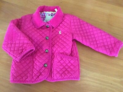 baby joules girls 12-18 months Mabel coat