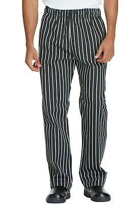 Striped Dickies Chef Unisex Traditional Baggy 3 Pocket Pants DC11 CKSP