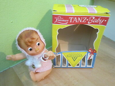 """Alte Hummel / Limmer Tanzfigur Puppe """"Tanz-Baby"""" + Box, 1965, West. Germany"""