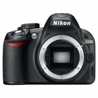 Nikon D3100 14.2MP Digital SLR Camera Black (Body Only) BRAND NEW