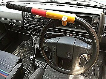 Baseball bat style car van steering wheel security lock van secure FITS ALL
