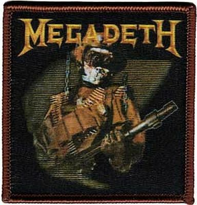 Megadeth - So What Soldier - Embroidered Patch - Brand New - 1299