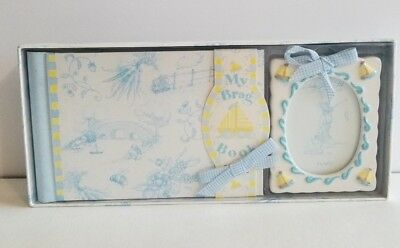 My Brag Book Lady Layne Ltd. #84007 Blue Photo Album and Photo Frame New in Box