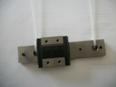 THK RSR12WZM Linear Guide Rail with 1 Square Block.