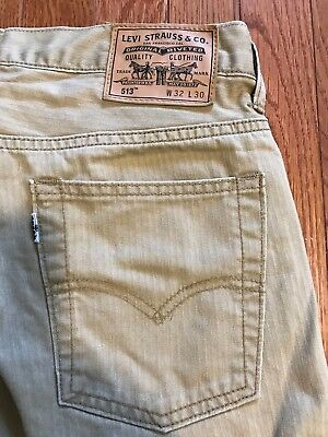 Lot of 6-Mens Jeans - 4 Levi's, 1 Standard Cloth, 1 Your Neighbors