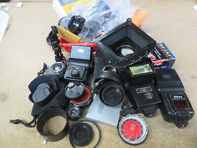 Lot of Camera and Photography items 10 pounds +