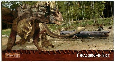 Dragonheart #72 Topps 1996 Widevision Trade Card CA8