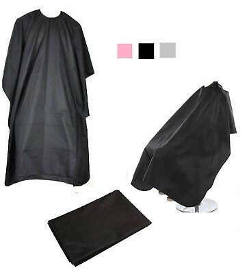 Unisex Adults Hair Salon Cape Hairdressing Barbers Gown Cutting Cover Bib Sheet