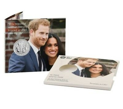 Limited Edition: Royal Mint 2018 Wedding Prince Harry & Meghan UK £5