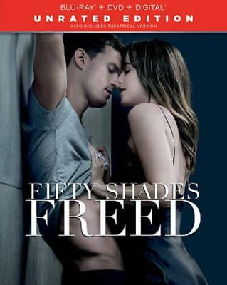 Fifty Shades Freed New Blu-Ray/dvd