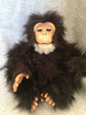 Furreal Cuddle Chimpmonkey Interactive Toy 1750 Picclick Uk