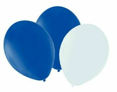 BLUE Latex PLAIN BALLONS helium BALLOONS Quality Party Birthday Wedding