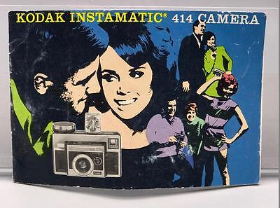 Vintage Kodak Instamatic 414 Camera Instruction Manual
