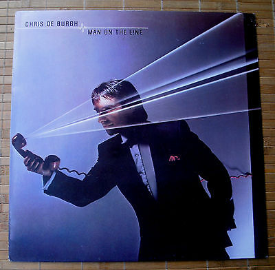 Chris De Burgh – Man On The Line (Vinyl Lp)