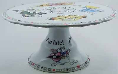 Rare 2012 Alice In Wonderland's Cafe Paul Cardew Cake Stand Designed In England