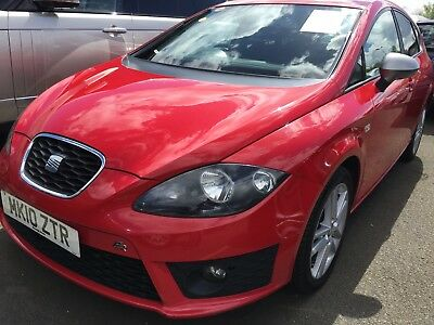 10 Seat Leon 2.0 Tdi Cr 170Bhp Fr **spares Or Repair, Underpowered, Drives Ok