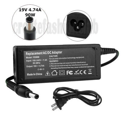 New 90W 19V AC Adapter Charger for Toshiba PA5035U-1ACA Laptop Power Supply US