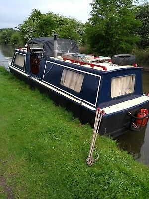 Canal and river cruiser boat steel hull boat