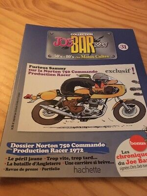 Joe Bar Team n° 31  collection moto revue magazine 50's 80's les motos cultes