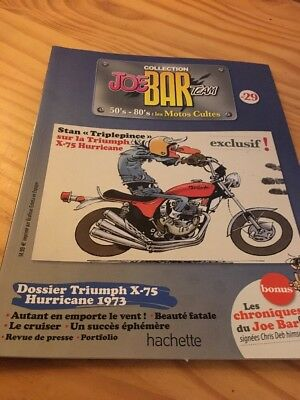 Joe Bar Team n° 29  collection moto revue magazine 50's 80's les motos cultes
