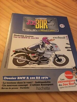 Joe Bar Team n° 27 collection moto revue magazine 50's 80's les motos cultes