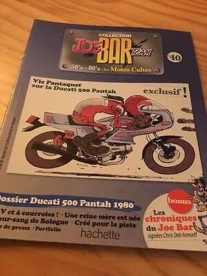 Joe Bar Team n° 40  collection moto revue magazine 50's 80's les motos cultes