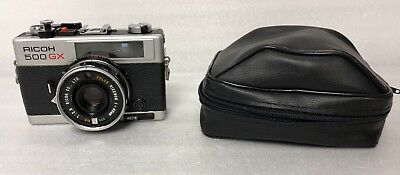 RICOH 500 GX Rangefinder Camera With Rikenon 40mm f/2.8 Lens - L34