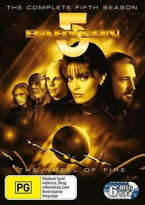 Babylon 5: Season 5 - the Wheel of Fire - DVD Region 4 Free Shipping!