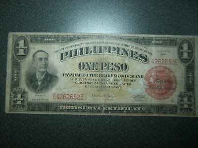 1941 Series One Peso Philippines