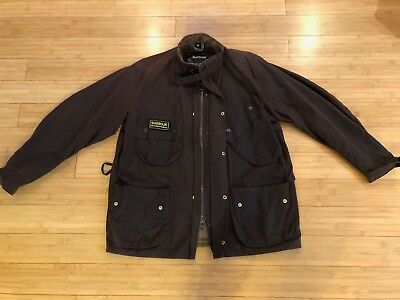 Mens Barbor International Jacket