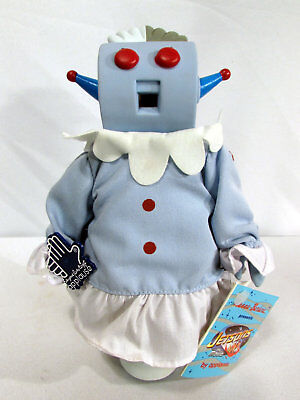 Vintage 1990s Rosie the Robot Maid Hanna Barbera Jetsons Doll by Applause