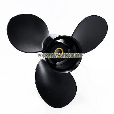 Aluminum Outboard Propeller 9X8 for Mercury 6-15HP 48-828154A12