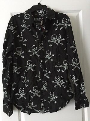 Vintage Tripp NYC 1990's  Long Sleeve Shirt:  New w/ Tag's ! No Reserve!
