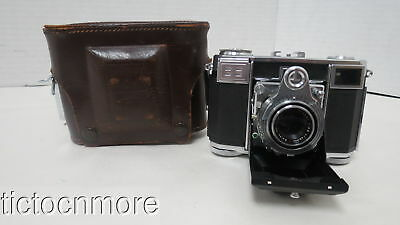VINTAGE ZEISS IKON CONTESSA CAMERA w/ ZEISS-OPTON TESSAR LENS 1:2.8 f= 45mm