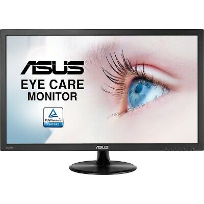 "ASUS VA249HE 23.8"" Full HD 5ms 24"" LED Monitor Eye Care HDMI VESA 100"