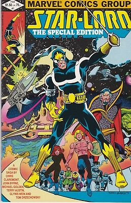 Starlord, The Special Edition #1 VF (Feb 1982, Marvel)