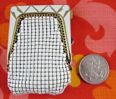 Vintage HOUSE OF MESH by Sterling KEY CASE with SWING TAG – Australian Design