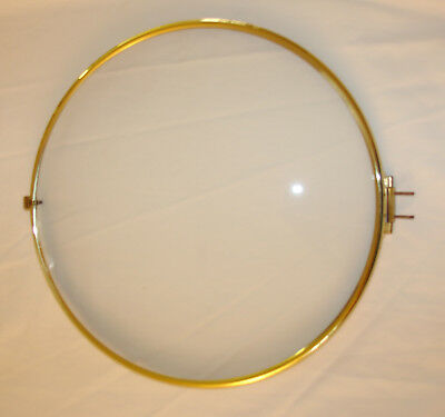New Large German Brass Clock Bezel with Convex Glass - Choose from 2 Sizes