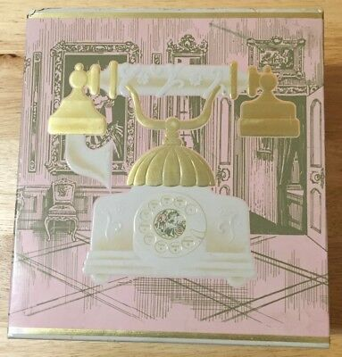 VINTAGE AVON FRENCH TELEPHONE DECANTER Box 1971(BOX ONLY!)